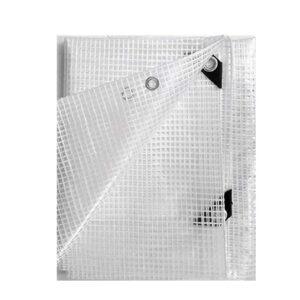 The Best Greenhouse Plastic Option: Arc Direct Clear Heavy Duty 14 Mil Poly Tarp Fiber