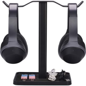 The Best Headphone Stand Option: Avantree Neetto Dual Headphones Stand for Desk