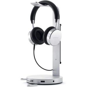 The Best Headphone Stand Option: Satechi Aluminum USB Headphone Stand Holder