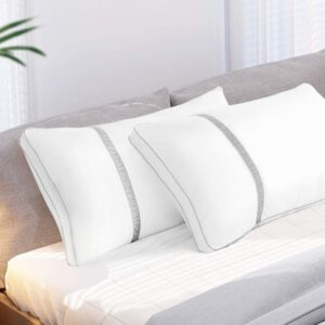 The Best Hypoallergenic Pillows Option: BedStory Pillows for Sleeping 2 Pack, Hotel Quality