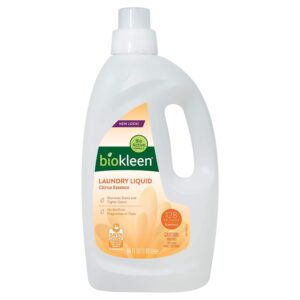 The Best Laundry Detergent For Hard Water Option: Biokleen Laundry Detergent - Citrus Essence
