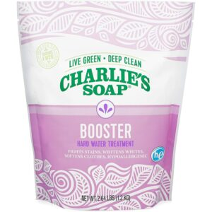 The Best Laundry_Detergent_For_Hard_Water_Charlie's Soap Booster & Hard Water Treatment