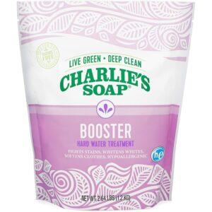 最好的洗衣粉和硬水查理的肥皂和硬水处理