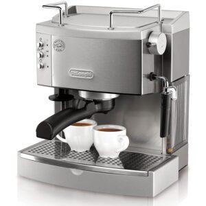 The Best Manual Espresso Machine Option: De'Longhi 15 bar Pump Espresso Maker