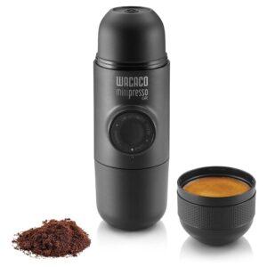 The Best Manual Espresso Machine Option: Wacaco Minipresso Portable Espresso Machine