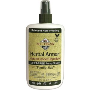 The Best Natural Bug Spray Option: All Terrain Herbal Armor Natural Insect Repellent