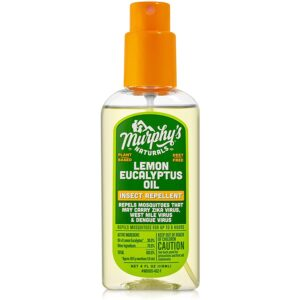 The Best Natural Bug Spray Option: Murphy's Naturals Lemon Eucalyptus Insect Repellent