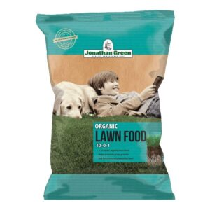 最好的有机草坪肥料选项:乔纳森绿色&儿子7566565有机草坪食品