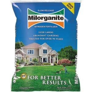 最好的有机草坪肥料选项:Milorganite 0636有机氮肥
