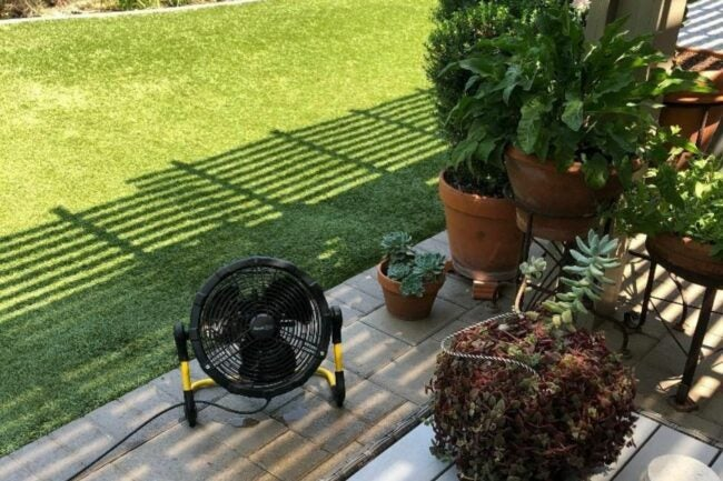 The Best Outdoor Misting Fan Option