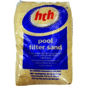 The Best Pool Filter Sand Option: HTH 67074 Filter Sand Care for Swimming Pools