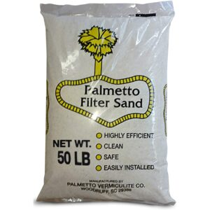 The Best Pool Filter Sand Option: Palmetto Poolfilter-50 Superior Pool Sand Filter