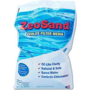 The Best Pool Filter Sand Option: Zeo, Inc ZeoSand-50 ZeoSand Swimming Pool Sand