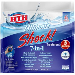 The Best Pool Shock Option: HTH 52028 Ultimate Shock Treatment Swimming Pool