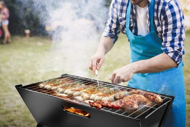 The Best Portable Charcoal Grill Option