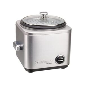 The Best Small Rice Cooker Option: Cuisinart CRC-400 Rice Cooker, 4-Cup, Silver