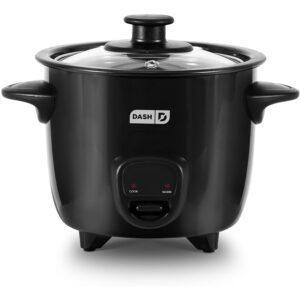 The Best Small Rice Cooker Option: Dash DRCM200BK Mini Rice Cooker Steamer
