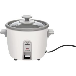The Best Small Rice Cooker Option: Zojirushi NHS-06 3-Cup (Uncooked) Rice Cooker