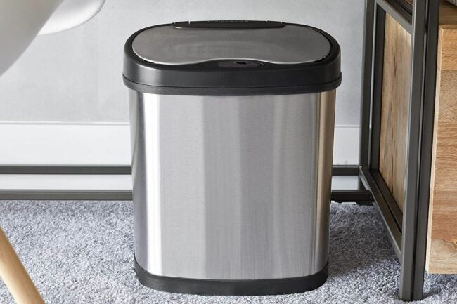 The Best Touchless Trash Can Option