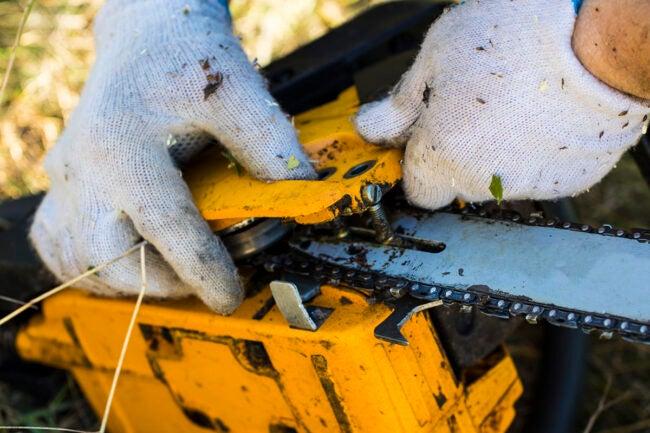 Chainsaw Won't Start: Broken Rewind Spring