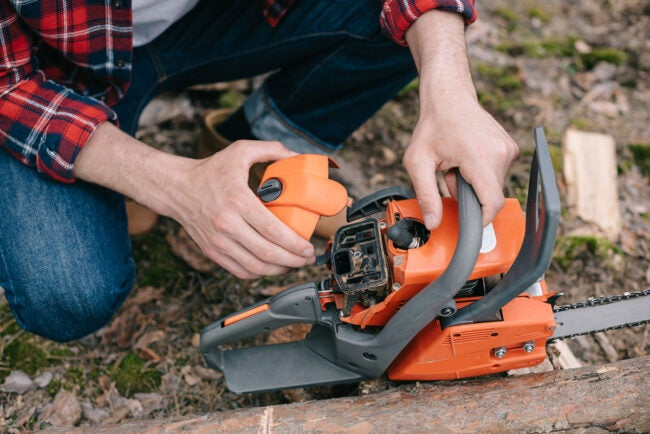 Chainsaw Won't Start: Ignition Coil Replacement