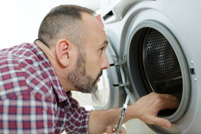 Dryer Won't Start A Defective Door Switch