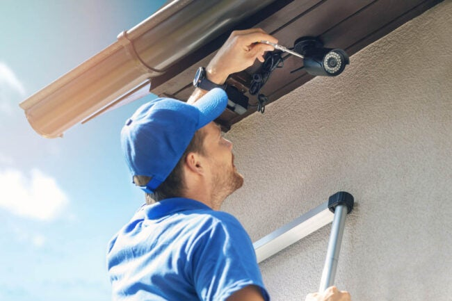 Home Security Cost DIY Home Security vs. Installing a Home Security System
