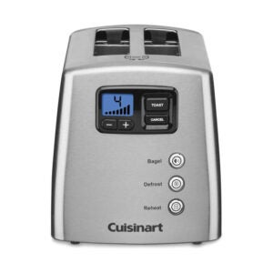 The Best 2 Slice Toaster Option: Cuisinart CPT-420 Touch to Toast Leverless Toaster