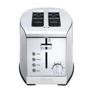 The Best 2 Slice Toaster Option: KRUPS KH732D50 2-Slice Stainless Steel Toaster