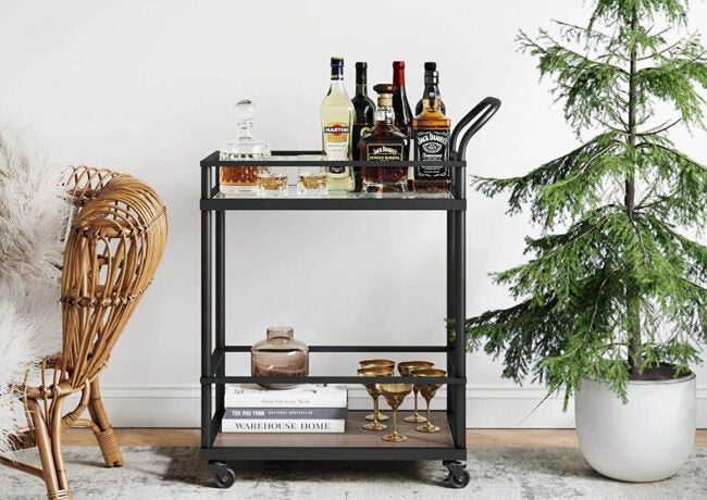 The Best Bar Carts Options