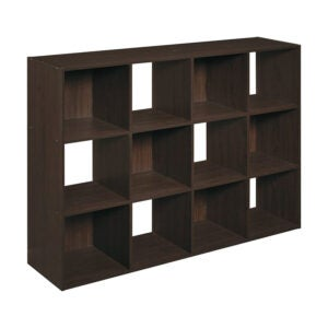 The Best Bookcases Option: ClosetMaid Cubeicals Organizer, 12-Cube
