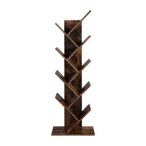 The Best Bookcases Option: VASAGLE Tree Bookshelf, 8-Tier Floor Standing