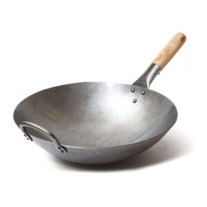 The Best Carbon Steel Pan Option: Craft Wok Traditional Hand Hammered Carbon Steel Pow