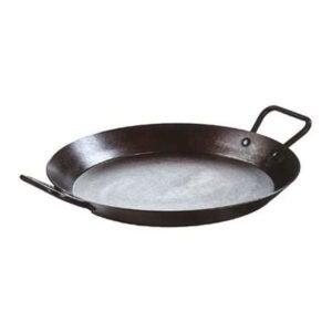 The Best Carbon Steel Pan Option: Lodge Carbon Steel Skillet, Pre-Seasoned, 15-inch