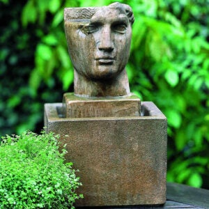 The Best Concrete Garden Statue Option: Birch Lane Erdmann Concrete Fountain