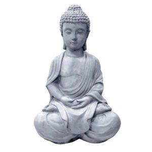 The Best Concrete Garden Statue Option: Bloomsbury Market Ilse Meditating Buddha Zen Statue