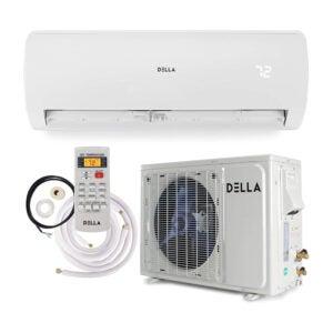 The Best Ductless Air Conditioner Option: Della 12000 BTU Mini Split Air Conditioner