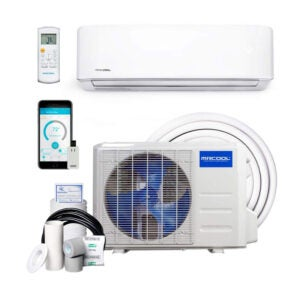 The Best Ductless Air Conditioner Option: MRCOOL DIY 24k BTU Ductless Heat Pump Split System