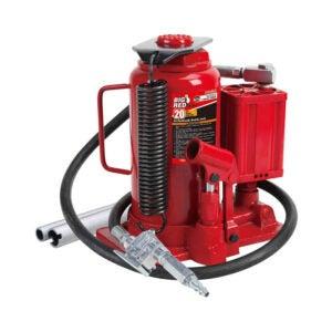 Trucks的最佳地板杰克选项:大红色创意气动空气液压瓶杰克