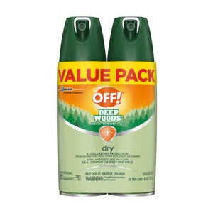 The Best Fly Repellent Option: OFF! Deep Woods Insect & Mosquito Repellent VIII