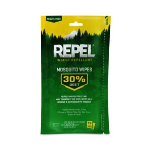 The Best Fly Repellent Option: Repel Repel Insect Repellent Mosquito Wipes 30% DEET