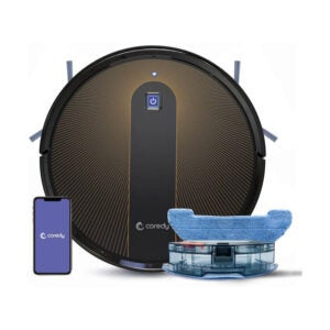 The Best Hardwood Floor Cleaner Machine Option: Coredy R750 Robot Vacuum Cleaner Mopping System