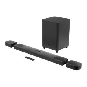 The Best Home Theater System Option: JBL Bar 9.1 - Channel Soundbar System with Speakers