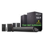 The Best Home Theater System Option: Nakamichi Shockwafe Ultra 9.2.4 Channel 1000W