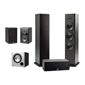 The Best Home Theater System Option: Polk Audio 5.1 Channel Home Theater System