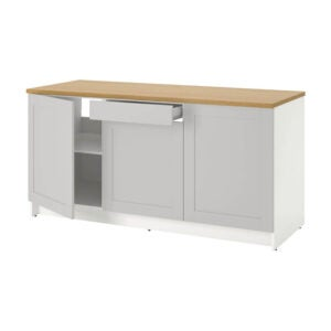 The Best Kitchen Cabinet Option: Ikea KNOXHULT Base Cabinet with doors and drawer