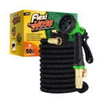 The Best Lightweight Garden Hose Option: Flexi Hose with 8 Function Nozzle, Lightweight Hose