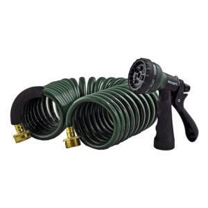 The Best Lightweight Garden Hose Option: Instapark Heavy-Duty EVA Recoil Garden Hose