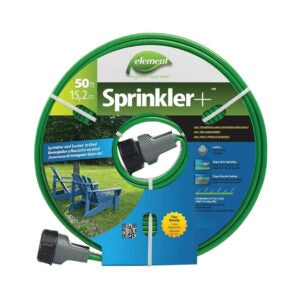 The Best Lightweight Garden Hose Option: Swan Products Element Sprinkler Soaker Hose