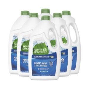 The Best Natural Dishwasher Detergent Option: Seventh Generation Dishwasher Detergent Gel (6 Pack)